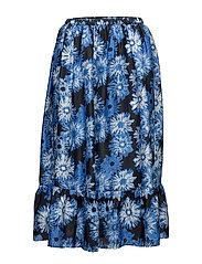 Lino Skirt - BLACK
