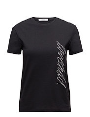 Alma T-shirt - BLACK
