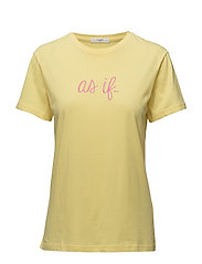 Andy T-shirt - PALE BANANA