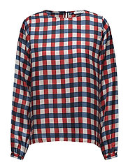 Agnes Blouse - RACING RED