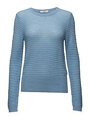 Halley R-neck - LITTLE BLUE