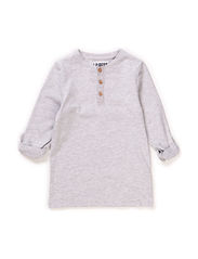 LPB PSJAMES LS TEE - Light Grey Melange