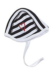 Cap, Helmet - BLACK/WHITE