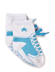 Sock, Baseball - blue