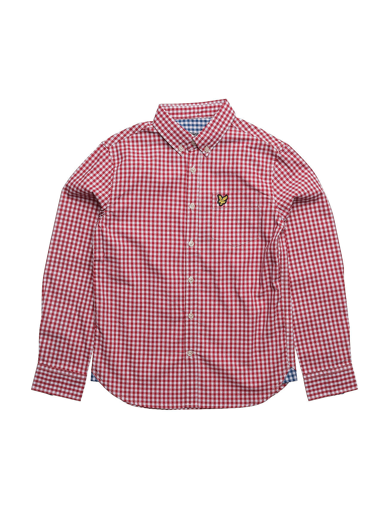 Lyle & Scott Gingham Check Shirt Lyle & Scott Junior  til Børn i