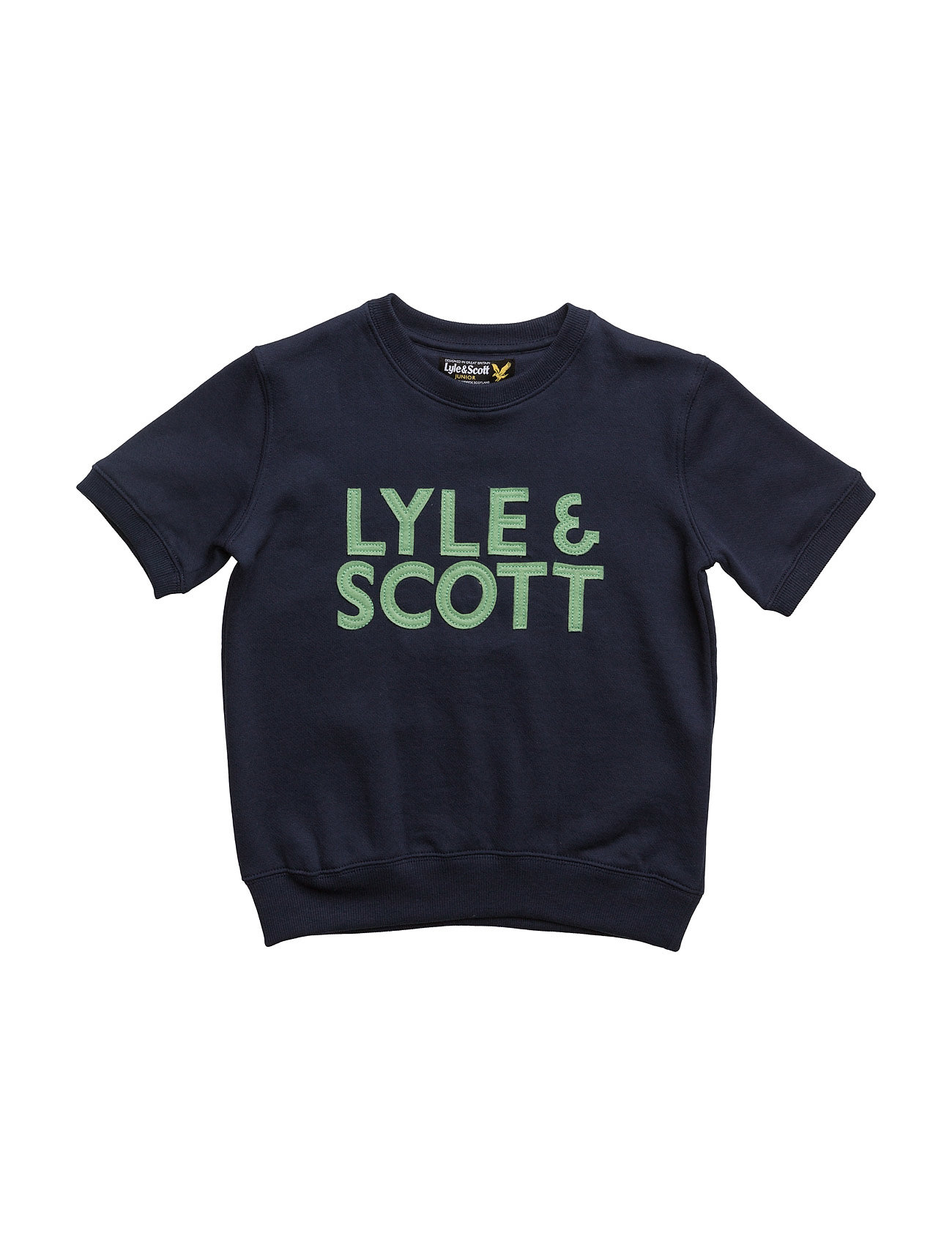 Lyle & Scott Crew Neck Sweatshirt With Artwork Ss thumbnail