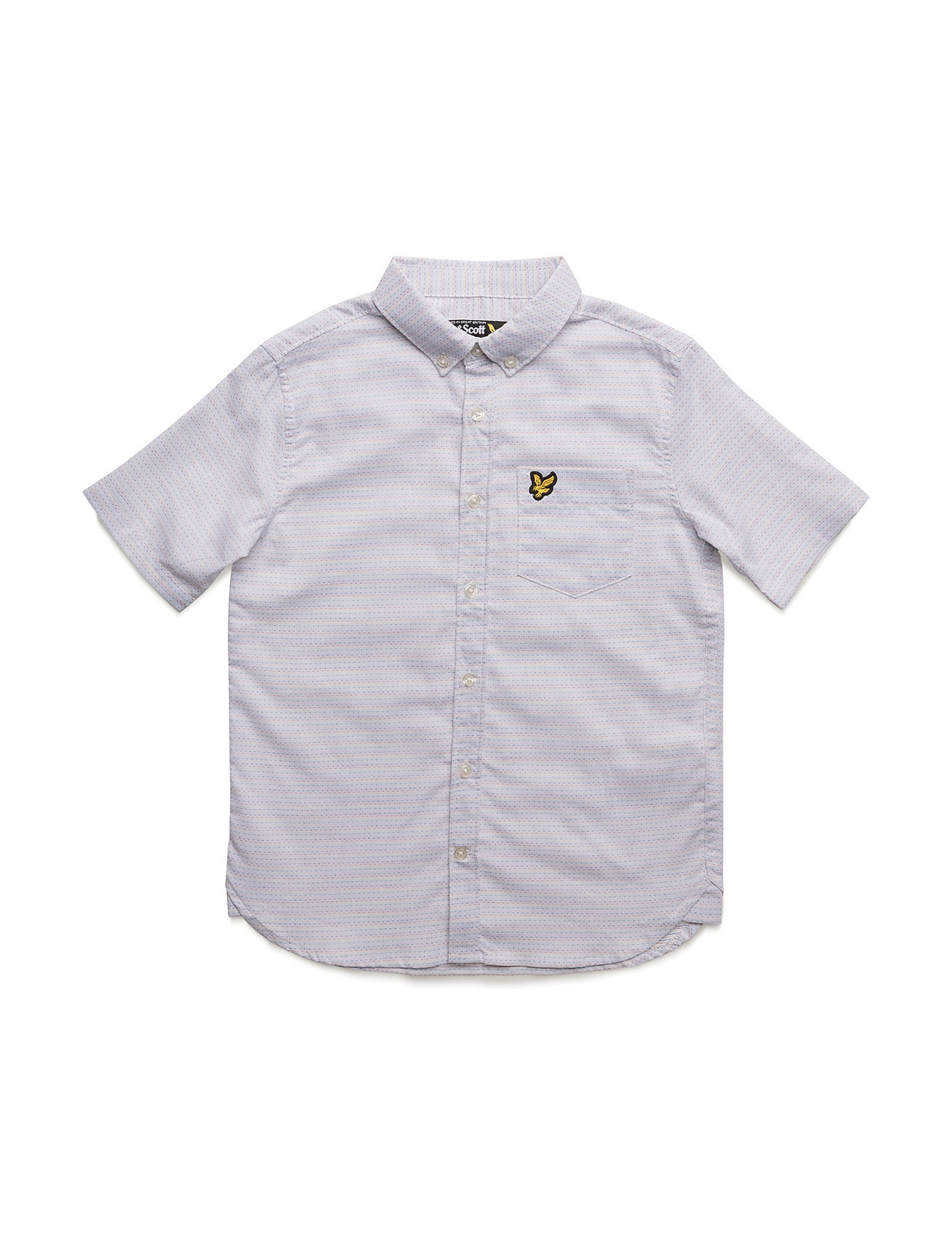 912fe28b63e Stilige Lyle & Scott Running Stitch Shirt Ss Lyle & Scott Junior til i høy  kvalitet