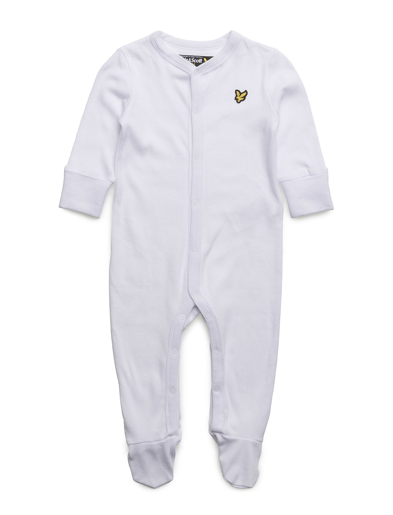 Lyle & Scott Sleepsuit Gift Lyle & Scott Junior  til Børn i Bright White