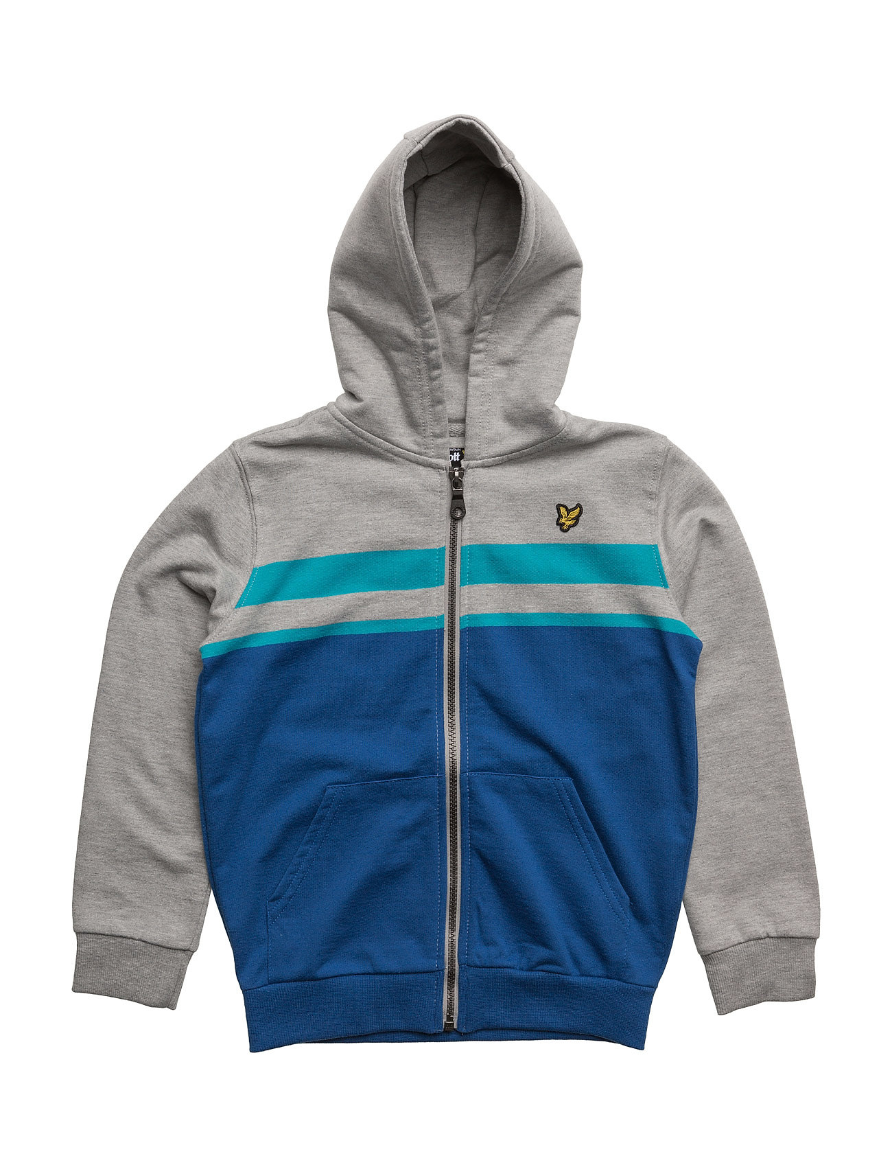 Lyle & Scott Zip Through Hoodie With Stripes thumbnail