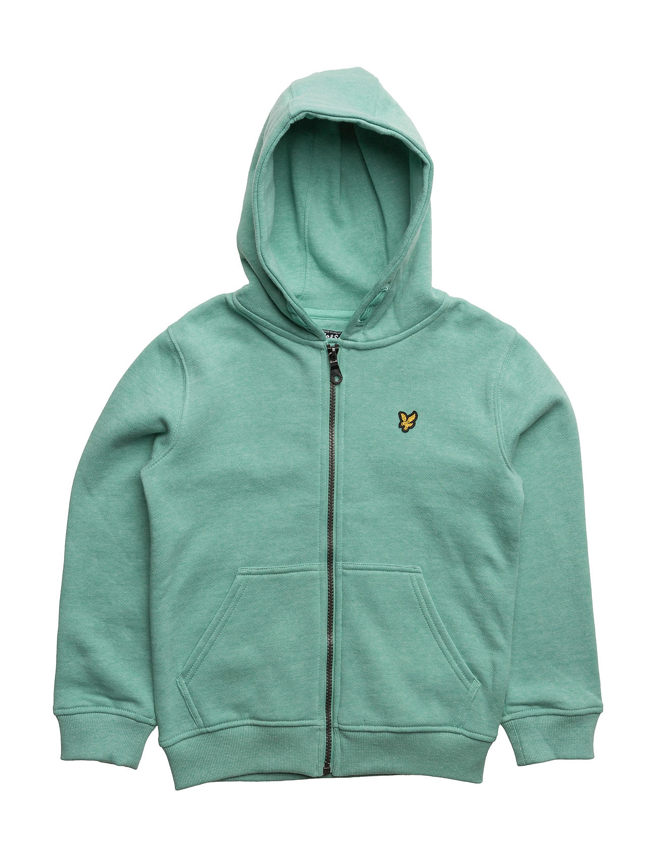 Lyle & Scott Marl Zip Through Fleece Hoodie Ls thumbnail