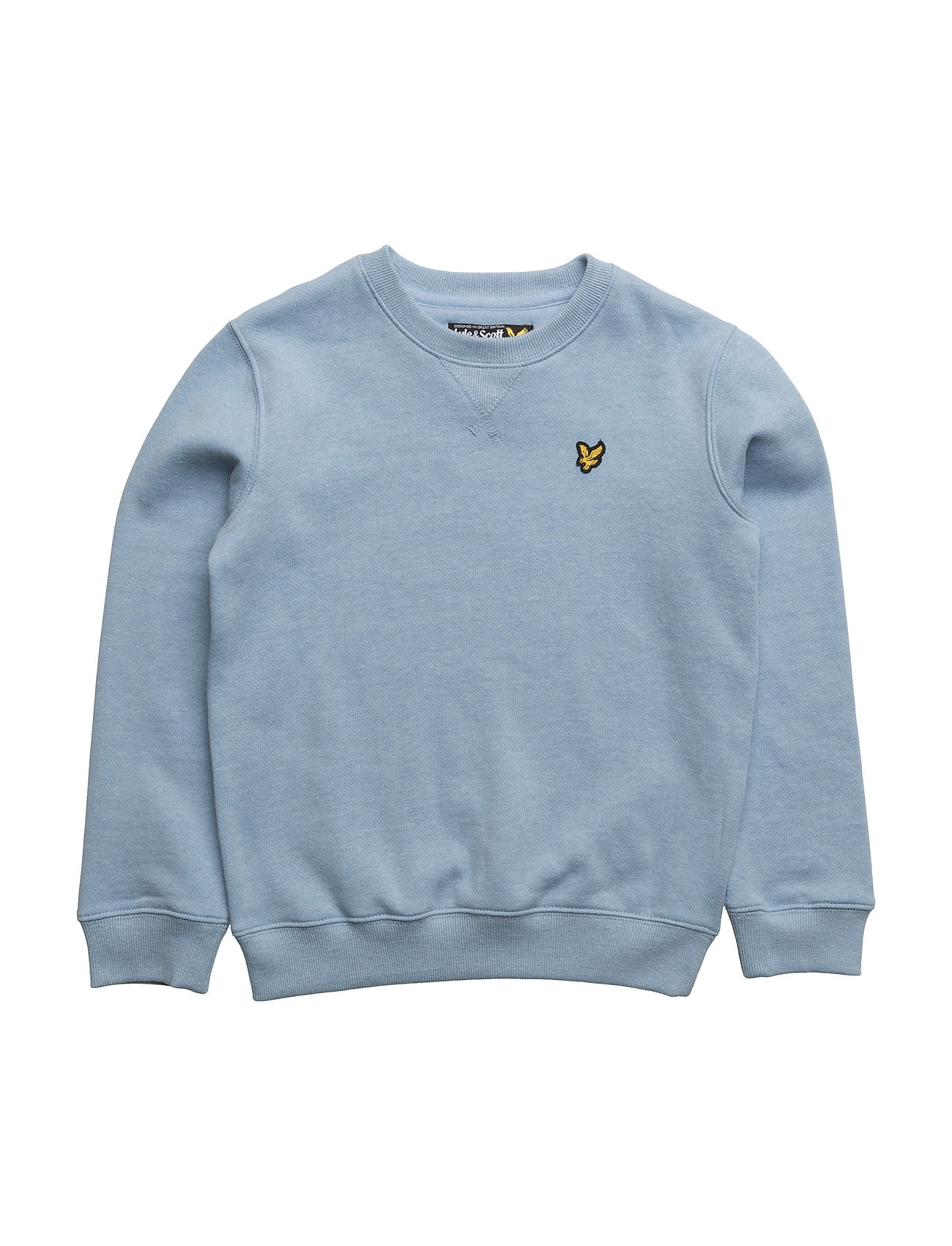 Lyle & Scott Plain Crew Neck Sweatshirt Ls thumbnail