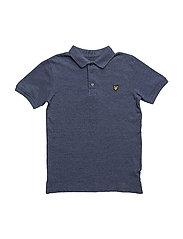 Classic Polo Shirt - NAVY MARL