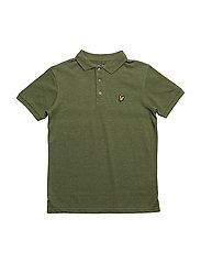 Classic Polo Shirt - OLIVE MARL