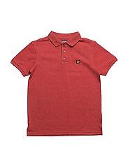 Classic Polo Shirt - POMEGRANTE MARL