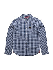 Lyle & Scott Gingham Check Shirt - TRUE BLUE