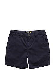 Lyle & Scott Linen Short - DEEP INDIGO