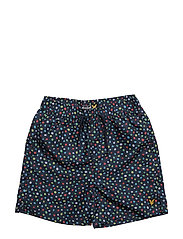 Lyle & Scott Dots Swim Short - DEEP INDIGO