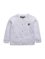 Knitted Jacket - BRIGHT WHITE