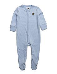 Lyle & Scott Sleepsuit Gift - BLUE MARL