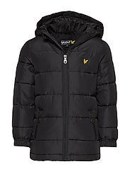 Down Puffa Coat - TRUE BLACK