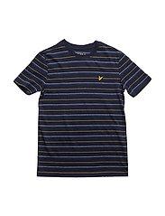 Texturized T-Shirt Ss - DEEP INDIGO