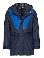 Zip Through Showerproof Jacket - NAVY