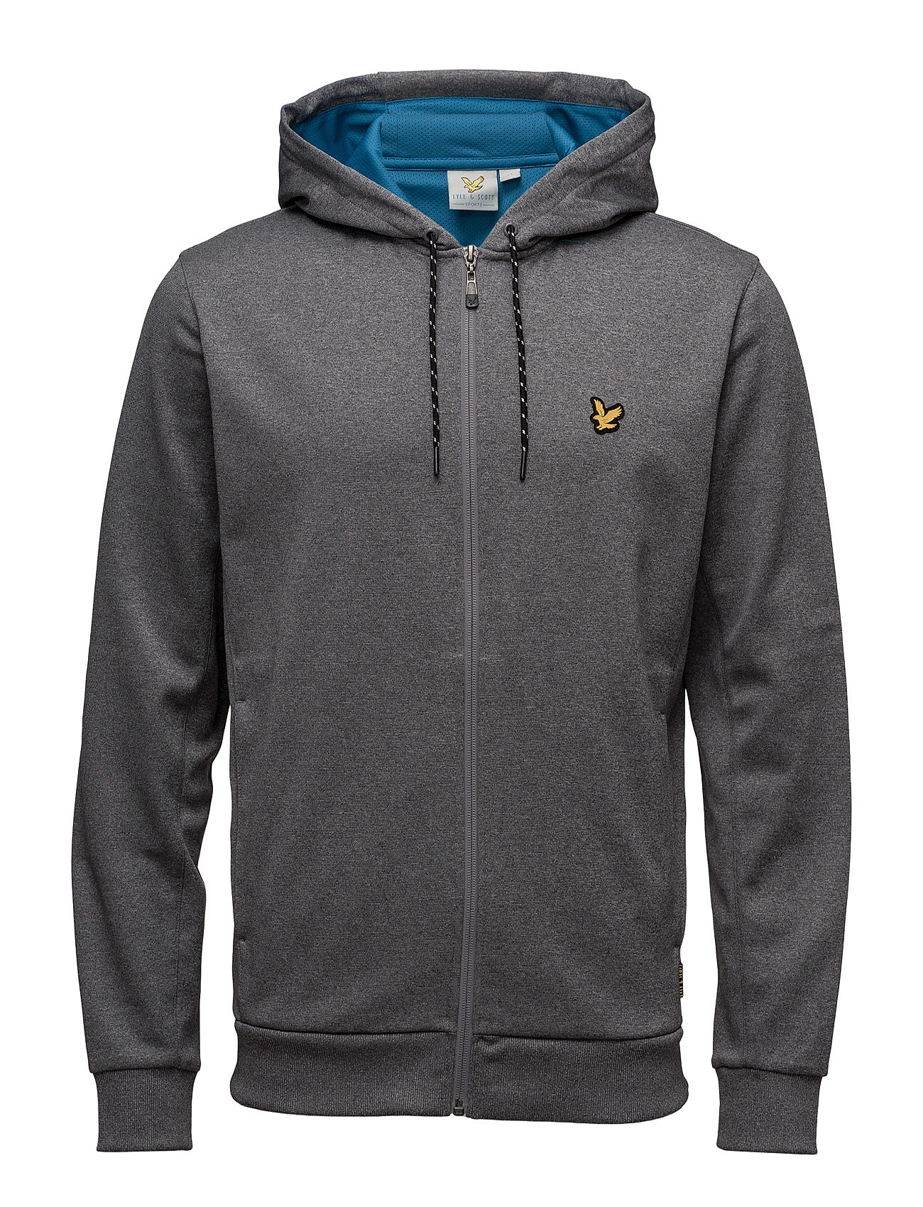 Hill Fleece Hooded Track Jacket Lyle & Scott Sport Hættetrøjer til Herrer i