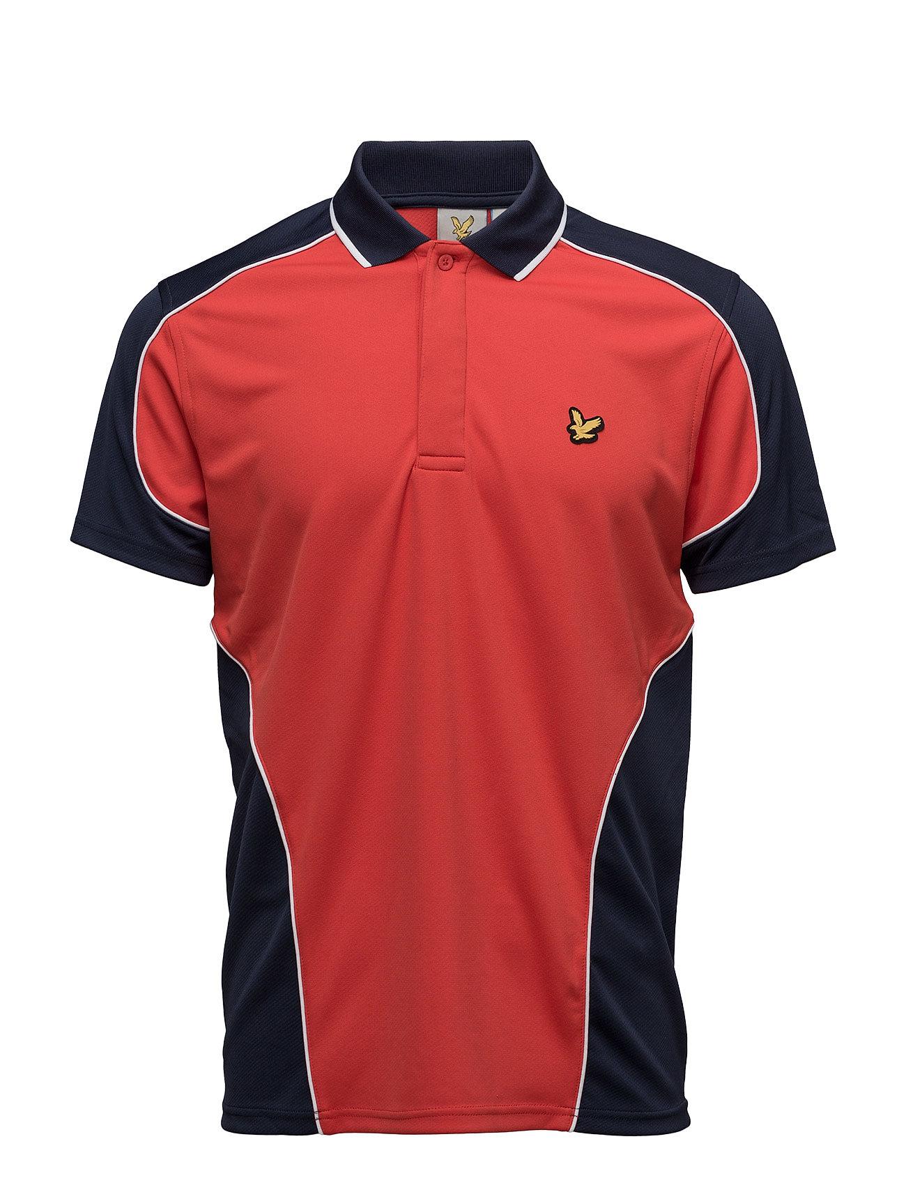 Hendry 2-Tone Mesh Polo Lyle & Scott Sport Kortærmede polo t-shirts til Herrer i