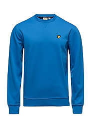 Thompson Fleece crew - DEEP COBALT