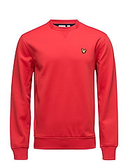 Thompson Fleece crew - PAVILION RED
