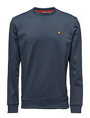 Thompson Fleece crew - PETROL GREY