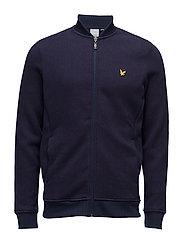 James Knitted Fleece Midlayer - NAVY