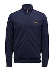 Mooney Interlock Track Top - NAVY