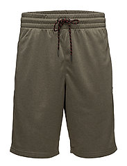 Randall Fleece Short - OLIVE MARL