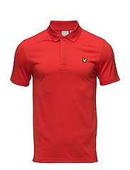 FOSTER Pique SS Polo - SCOOTER RED