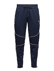Law slim fit fleece track pants - NAVY