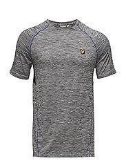Jones Training T-Shirt - MID GREY MARL