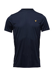 Peters tee with mesh panels - NAVY