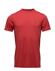 Peters tee with mesh panels - PAVILION RED