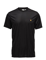 Peters tee with mesh panels - TRUE BLACK