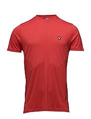 Simpson drop needle t-shirt - PAVILION RED
