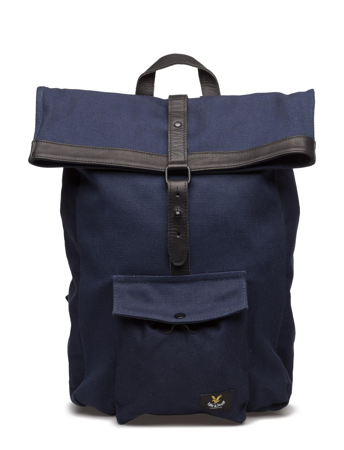 Roll Top Backpack Lyle & Scott Tasker til Mænd i Navy blå