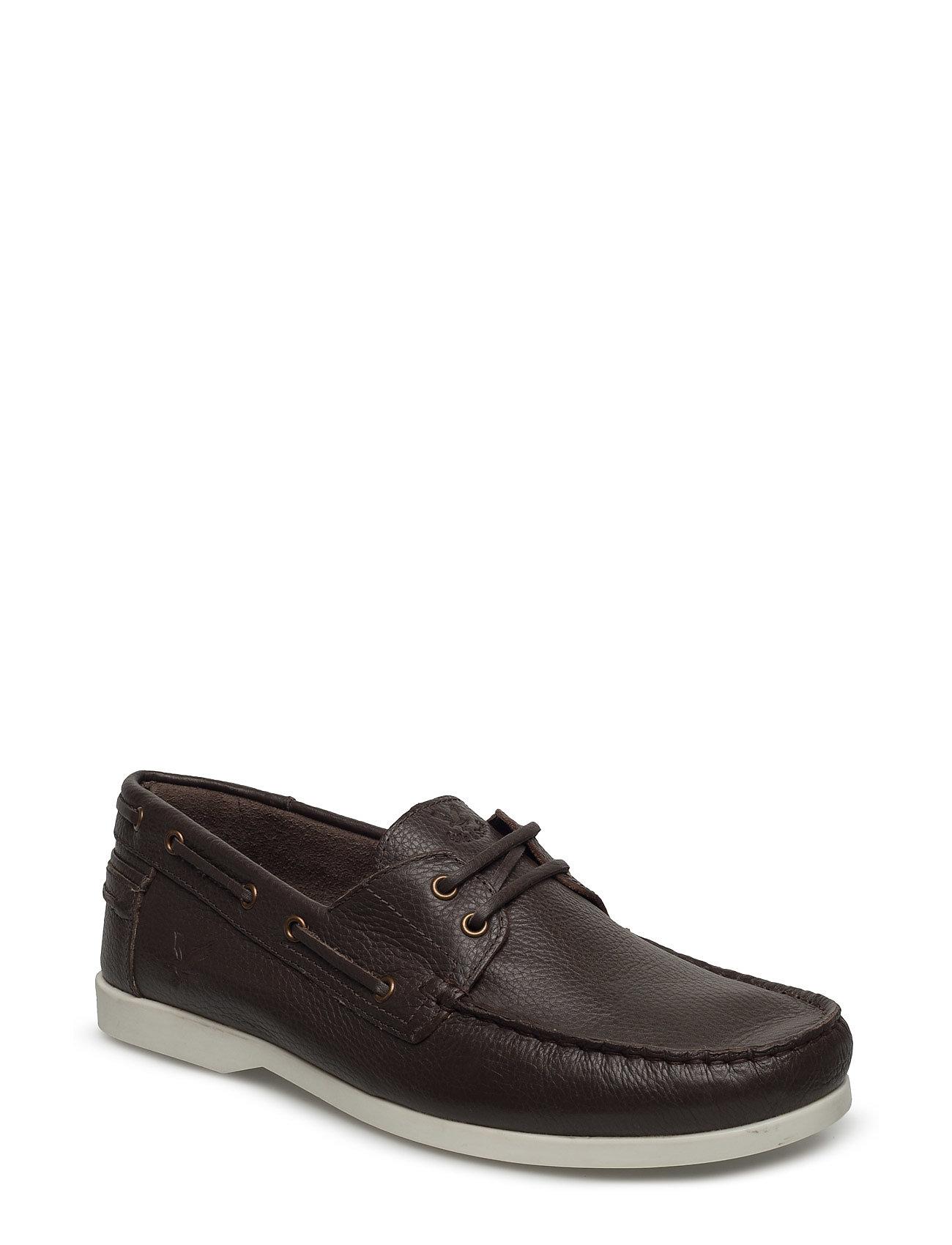 Garvan Leather Lyle & Scott Casual sko til Herrer i Mørkebrun