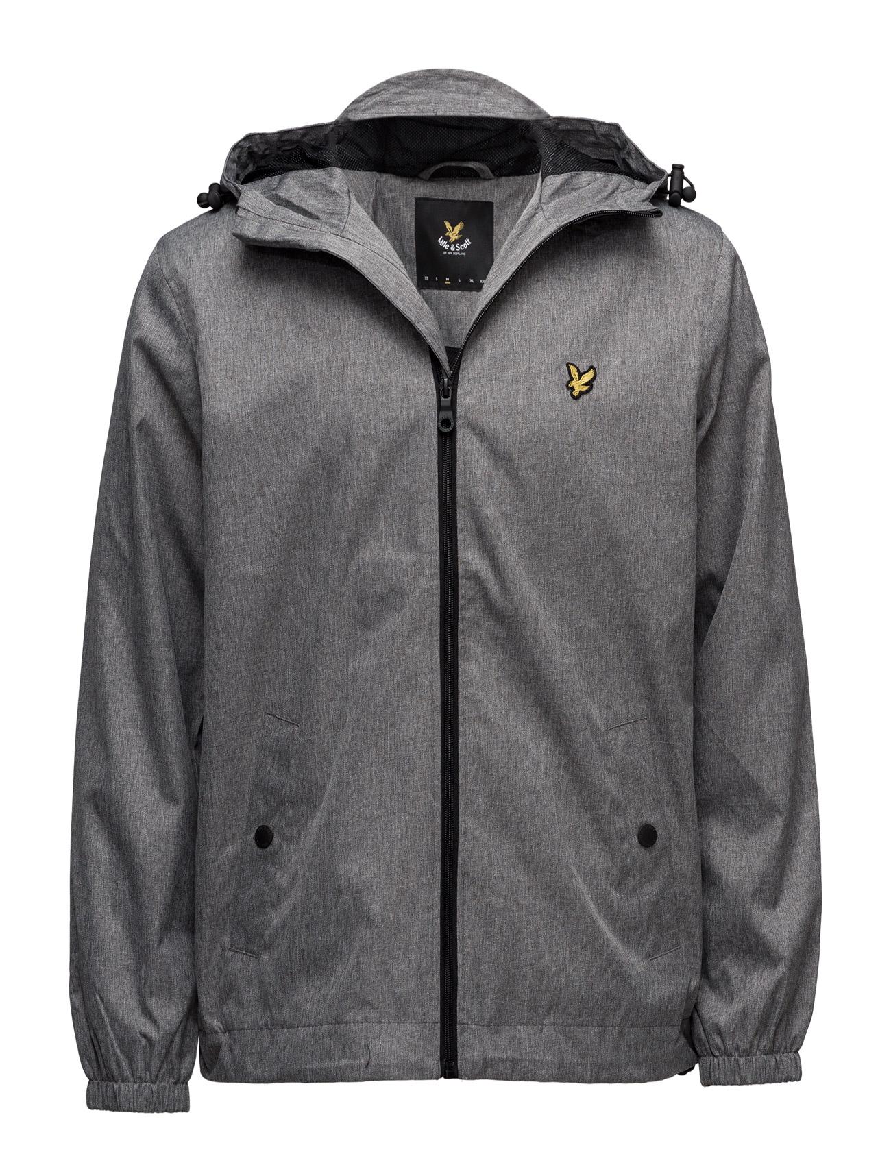 Zip Through Hooded Jacket Lyle & Scott Jakker til Mænd i