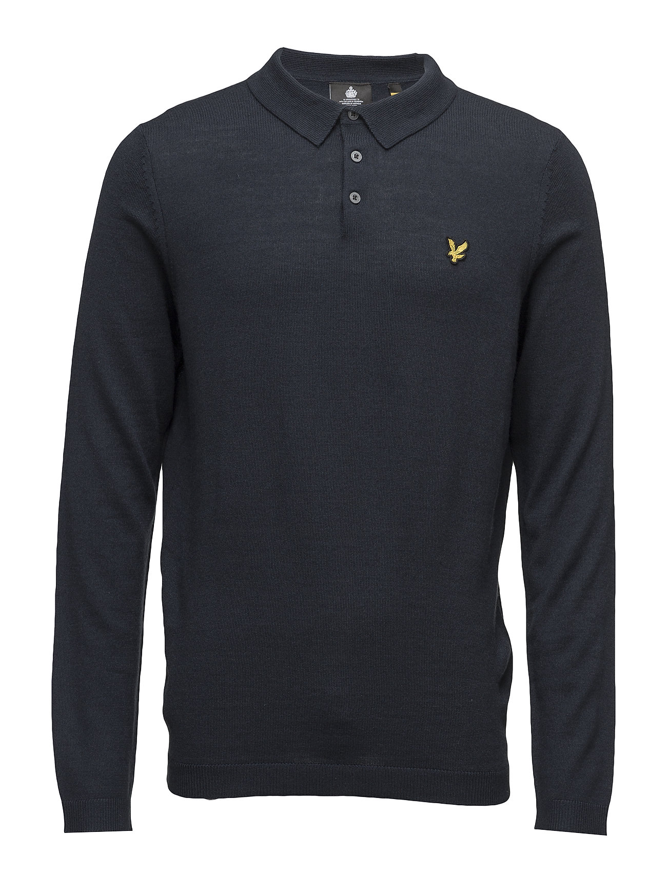 Lyle & Scott Knitted Polo Shirt