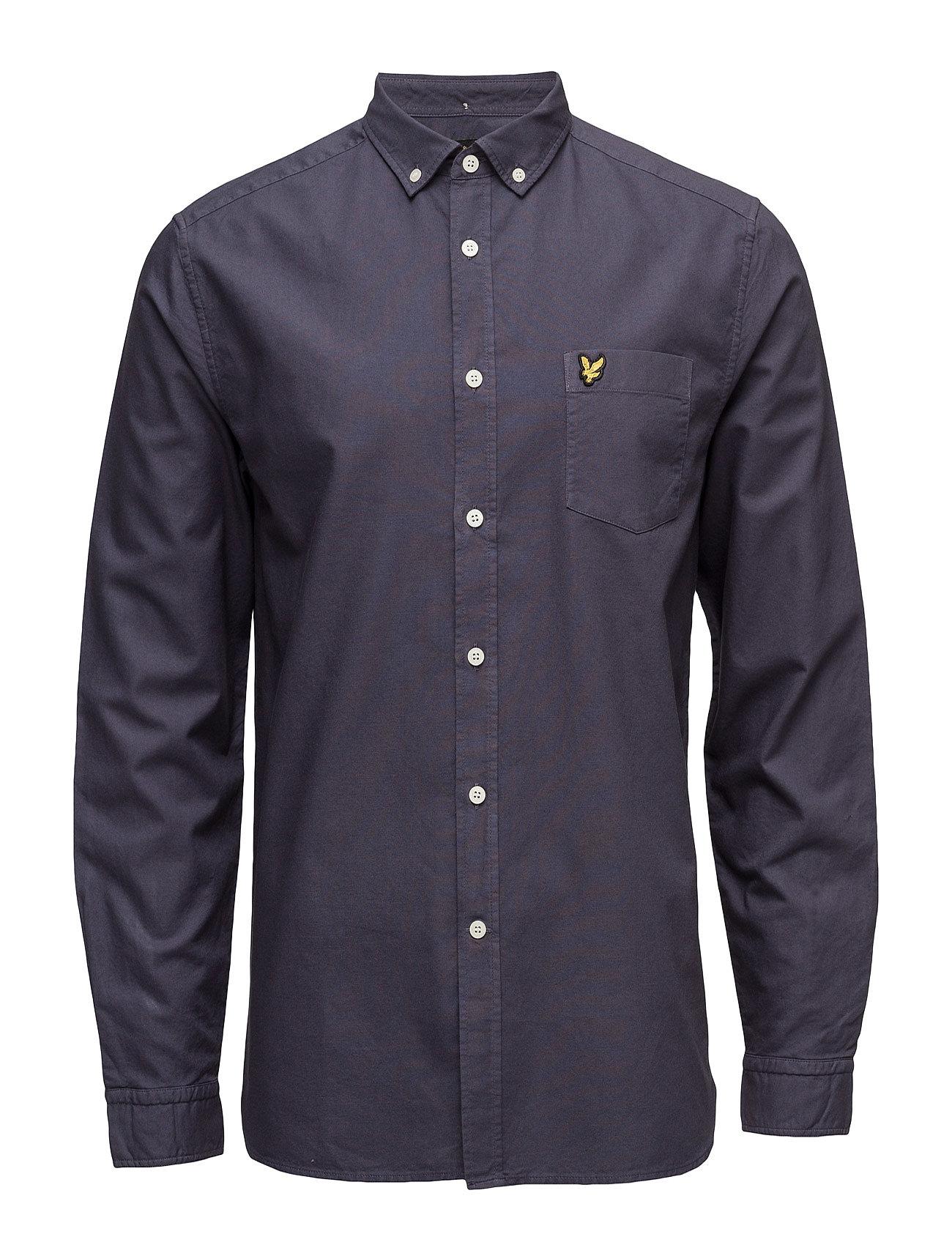 Garment Dye Oxford Shirt Lyle & Scott Casual sko til Herrer i