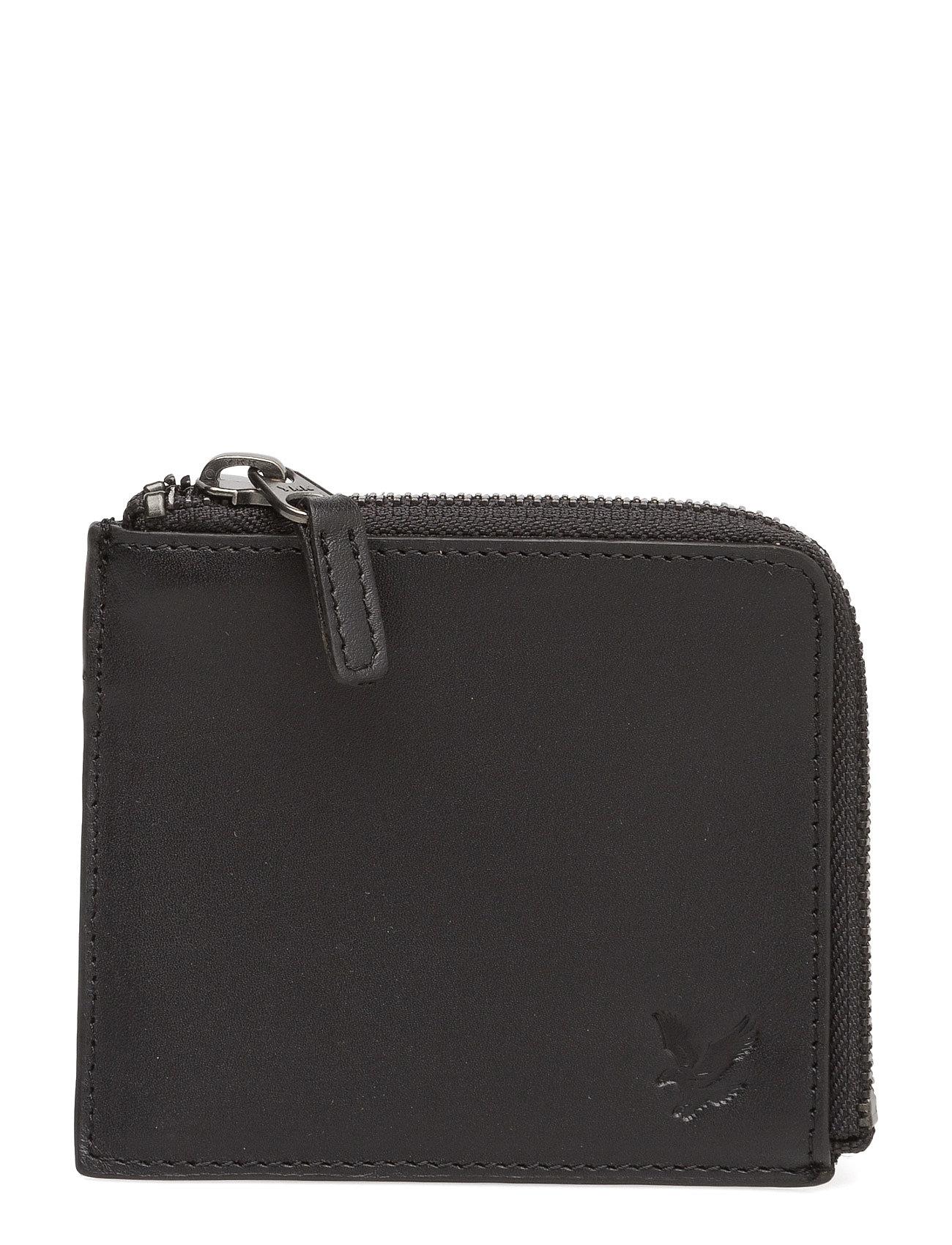 Half Zip Leather Wallet Lyle & Scott Punge til Herrer i