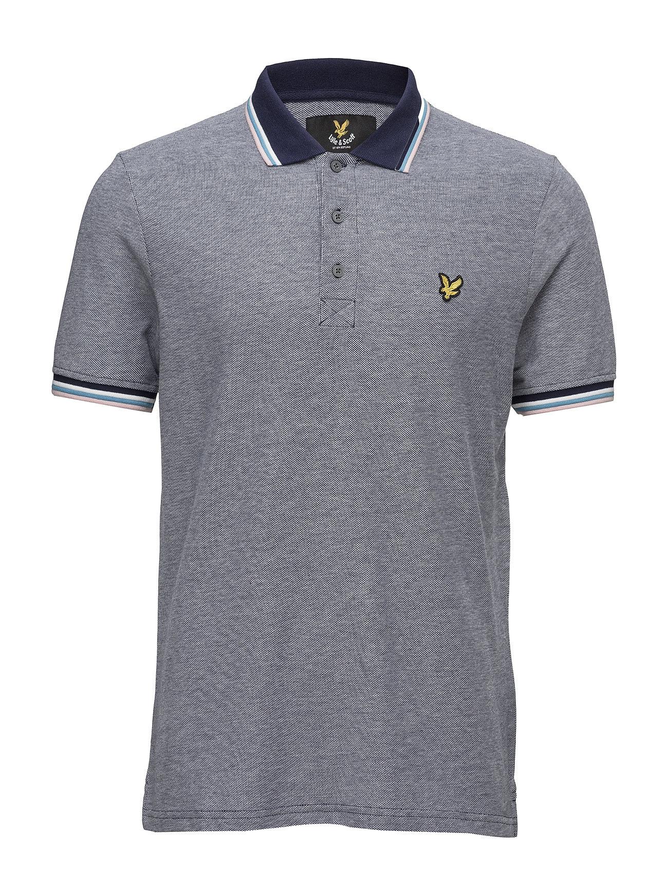 Tipped Polo Shirt Lyle & Scott Polo t-shirts til Mænd i Navy blå