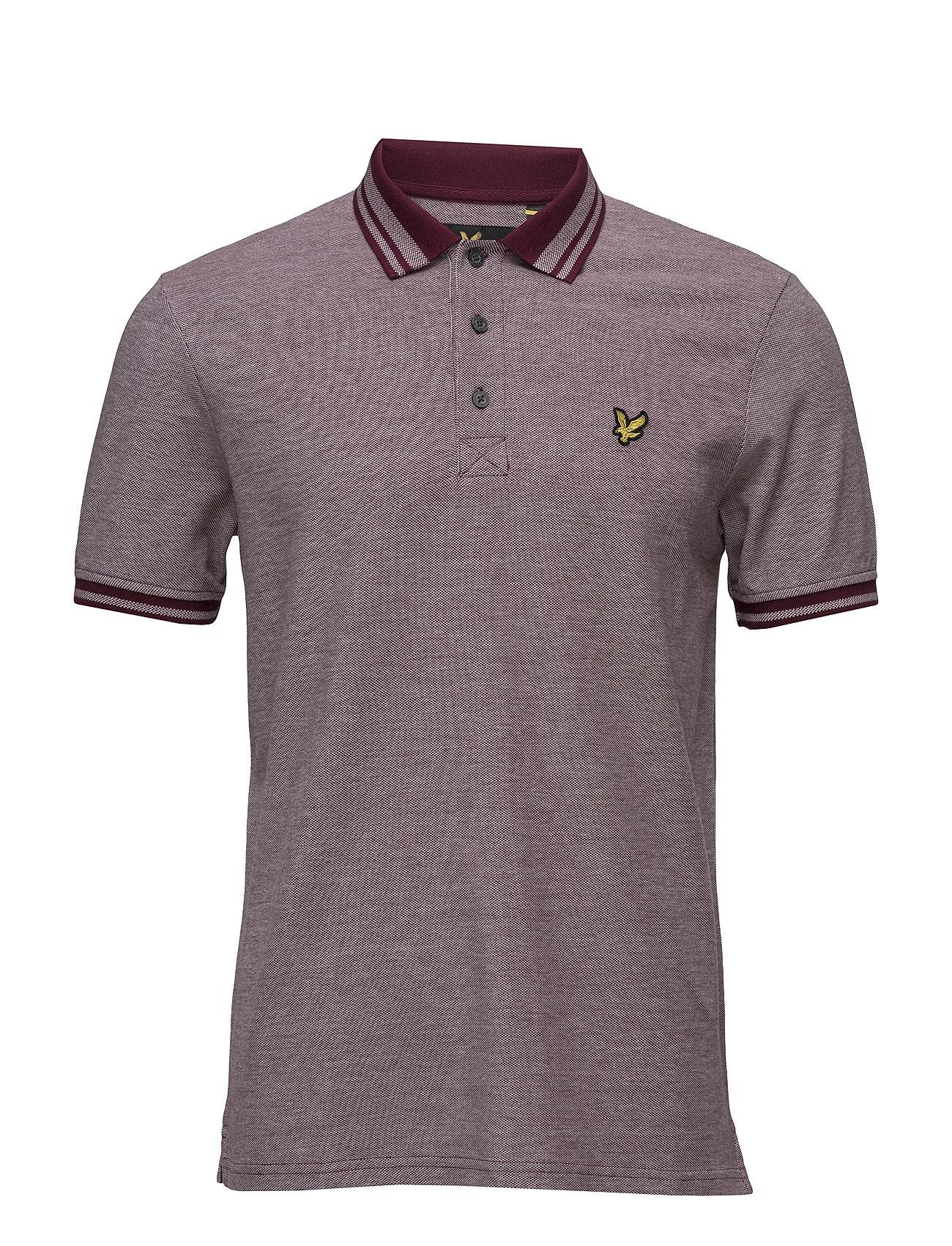 Oxford Polo Shirt Lyle & Scott Kort Ärm Pikétröjor