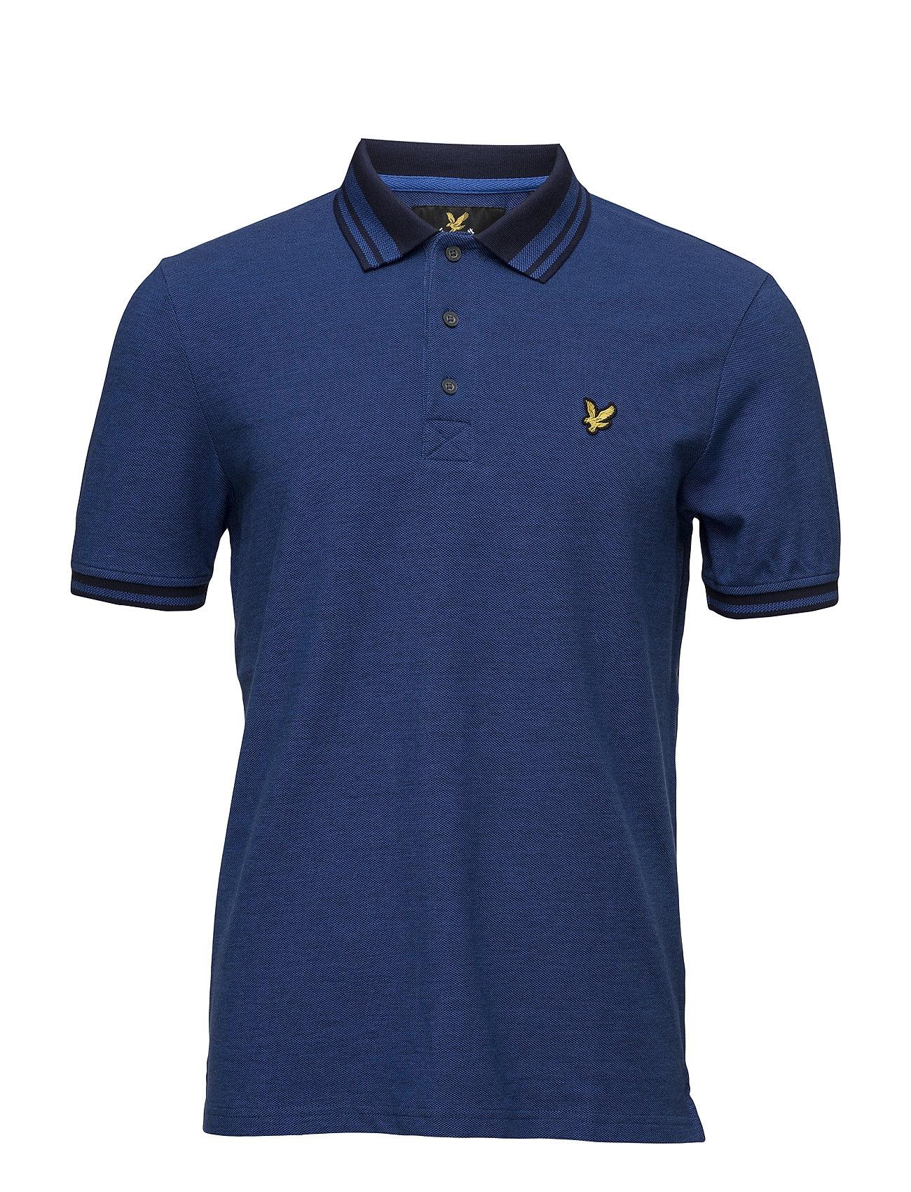 Oxford Polo Shirt Lyle & Scott Kortærmede polo t-shirts til Herrer i